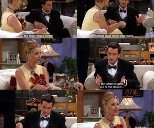 chandler, lol, and rachel image