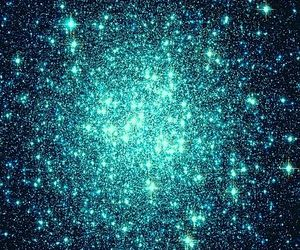 stars, blue, and galaxy image