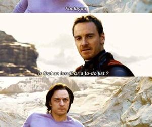 funny, what, and x-men image