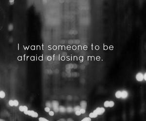 quotes, afraid, and someone image