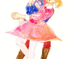 boy and girl and prince and princess image