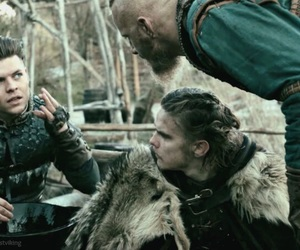 bjorn, vikings, and alexander ludwig image
