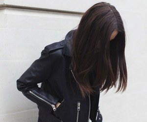 girl, fashion, and black image