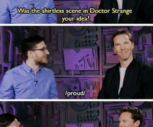 benedict cumberbatch, doctor strange, and sherlock image