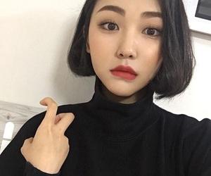 asian, girl, and korea image