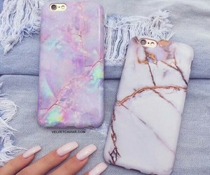iphone, case, and nails image