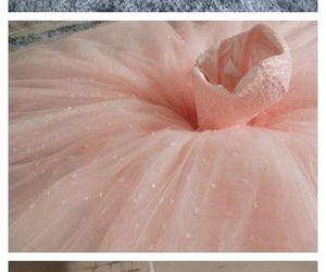dress, pink, and bride image