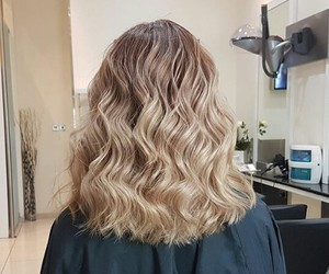 curly, girls, and hair cut image