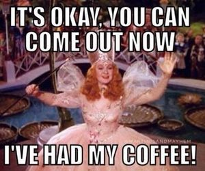 coffee, witch, and good witch image