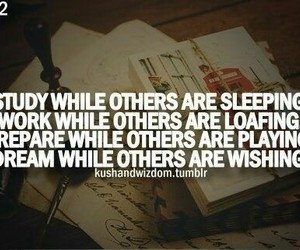 study, Dream, and quote image
