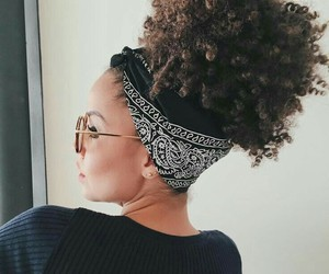 curly hair and afros image