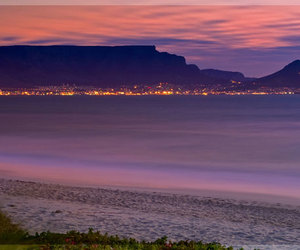 cape town, south africa, and sunset image