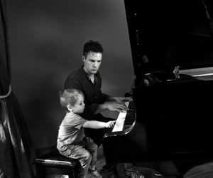 brandon flowers, daddy, and kid image