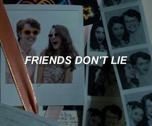 friends, lies, and alternative image