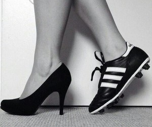 football, soccer, and shoes image