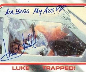 autograph, LUke, and mark image
