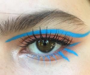 cosmetics, eye, and eyelashes image