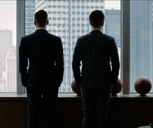 mike ross, harvey specter, and suits image