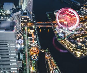 cityscape, japan, and urban image
