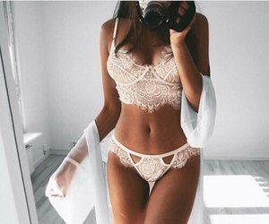 body, lingerie, and style image