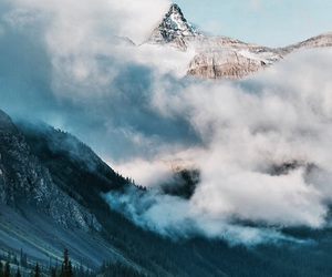 beautiful, mountains, and sky image