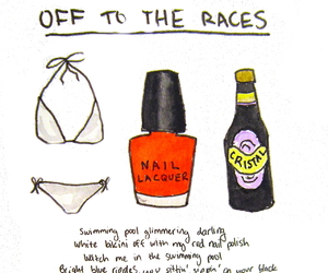 Lyrics, off to the races, and lana del rey image
