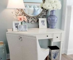 home, flowers, and decor image