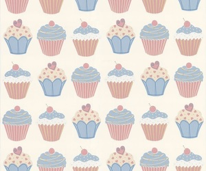 backround, beautiful, and cupcakes image