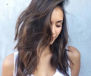 Nina Dobrev, tvd, and hair image