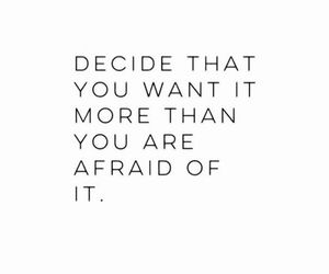 afraid, success, and dreams image