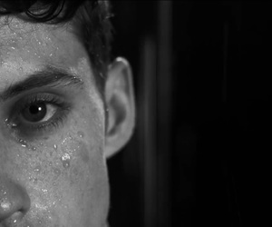 heaven, troye sivan, and black and white image