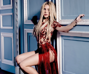 shakira, red, and sexy image