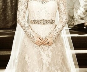 reign, wedding, and wedding dress image