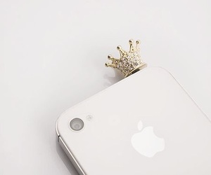 accessories, white, and crown image