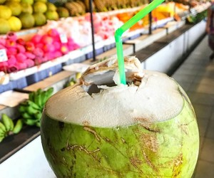 coconut, delicious, and fruit image