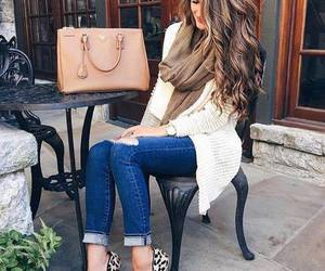 ankle boots, brunette, and ootd image
