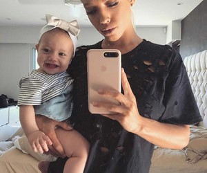 baby and baby girl image