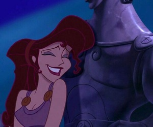 hercules, disney, and megara image