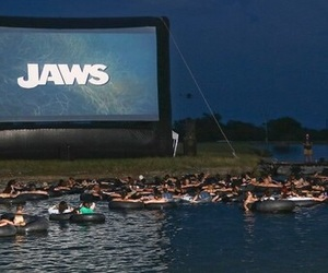 jaws, film, and movie image