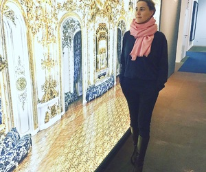 berlin, scarf, and vichy image