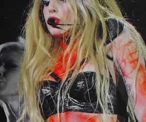 Lady gaga, beautiful, and blood image