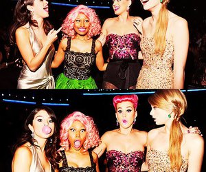 katy perry, selena gomez, and Taylor Swift image