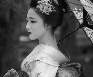 japan, geisha, and beautiful image