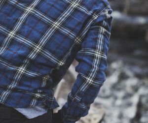 blue shirt, fashion week, and clothes image