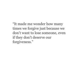forgive