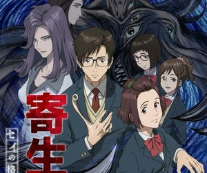 parasyte and anime image