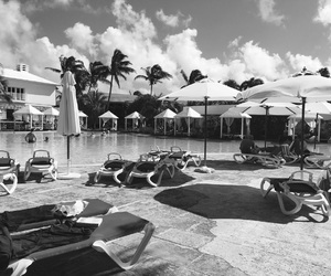 black and white, cuba, and Nice day image