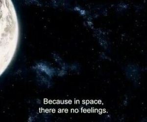 space, quotes, and feelings image