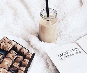 book, delicious, and chocolate image
