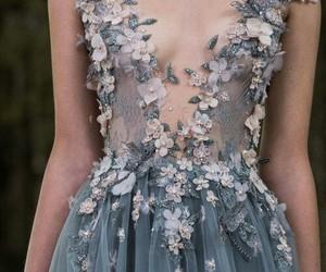 beautiful, fashion, and dress image